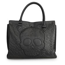 Skull Lattice Tote Bag