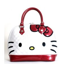 Hello Kitty Quilted Face Tote Bag