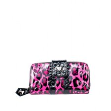 <strong>Loungefly</strong> Skull & Hearts Embossed Wallet