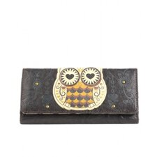 Owl With Heart Eyes Wallet