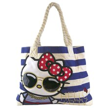 Hello Kitty Nautical Tote Bag