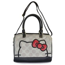 Hello Kitty Polka Dot Duffle Cross Body Bag