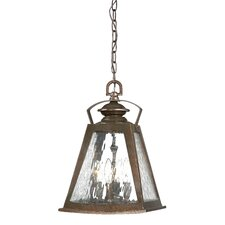 Oxford Road 4 Light Outdoor Chain Hanging Lantern