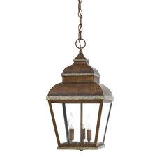 Mossoro 3 Light Outdoor Hanging Lantern