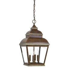 <strong>Great Outdoors by Minka</strong> Mossoro 4 Light Hanging Lantern