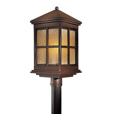 <strong>Great Outdoors by Minka</strong> Berkeley 1 Light Outdoor Post Lantern