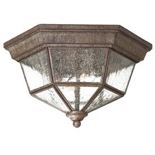 <strong>Great Outdoors by Minka</strong> Taylor Court 2 Light Outdoor Flush Mount
