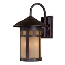 <strong>Great Outdoors by Minka</strong> Harveston Manor 3 Light Outdoor Wall Lantern
