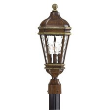 <strong>Great Outdoors by Minka</strong> Marietta Outdoor 3 Light Post Lantern