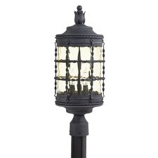 <strong>Great Outdoors by Minka</strong> Mallorca 3 Light Outdoor Post Lantern