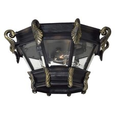Stratford Hall Outdoor Flush Mount Lantern