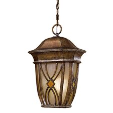 <strong>Great Outdoors by Minka</strong> Aston Court 1 Light Outdoor Hanging Lantern