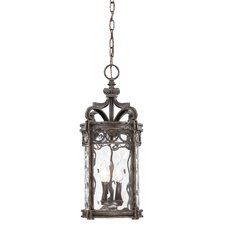 <strong>Great Outdoors by Minka</strong> Regal Bay 3 Light Indoor/Outdoor Chain Hanging Lantern