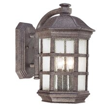 <strong>Great Outdoors by Minka</strong> Lighthouse Road 3 Light Outdoor Wall Lantern