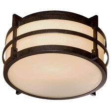 Andrita Court 1 Light Outdoor Flush Mount