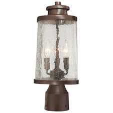 Travessa 3 Light Outdoor Post Lantern