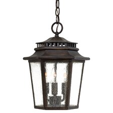 <strong>Great Outdoors by Minka</strong> Wickford Bay 3 Light Indoor/Outdoor Chain Hanging Lantern