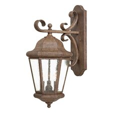 <strong>Great Outdoors by Minka</strong> Taylor Court 3 Light Outdoor Wall Lantern