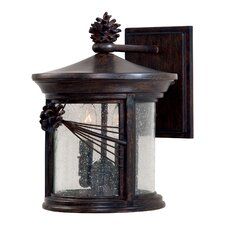 Abbey Lane 2 Light Outdoor Wall Lantern