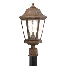 <strong>Great Outdoors by Minka</strong> Taylor Court 3 Light Outdoor Post Lantern
