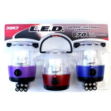 Mini LED Flashlight Lantern (Set of 3)