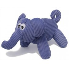 Corduroy Emmathe the Elephant Dog Toy