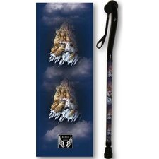 Lion And Lamb Cane in Black