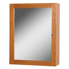 "Worthington 19"" x 23.88"" Surface Mount Flat Medicine Cabinet"