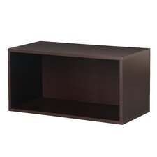 <strong>Foremost</strong> Modular Storage Large Open Cube in Espresso