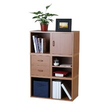 Modular Storage Five in One System in Honey