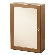 "Heartland 16.63"" x 23.75"" Surface Mounted Medicine Cabinet"