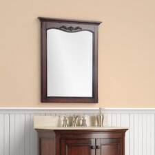 "Astria 32"" H x 26"" W Bathroom Mirror"