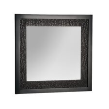 "Mattra 27"" H x 29"" W Bathroom Mirror"