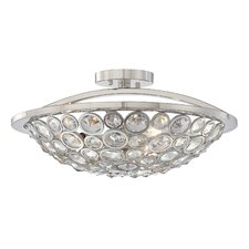 Magique 3 Light Semi Flush Mount