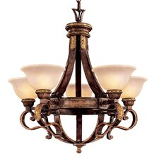 <strong>Metropolitan by Minka</strong> Catalonia II 5 Light Chandelier