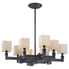<strong>Metropolitan by Minka</strong> 8 Light Chandelier