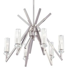 <strong>Metropolitan by Minka</strong> Fusano 6 Light Chandelier