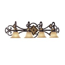 Zaragoza 4 Light Vanity Light