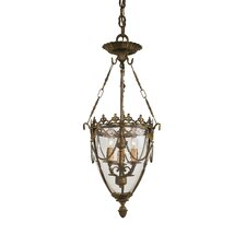 Vintage 3 Light Foyer Pendant