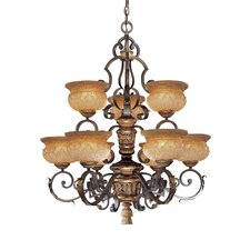 <strong>Metropolitan by Minka</strong> Habana 9 Light Chandelier
