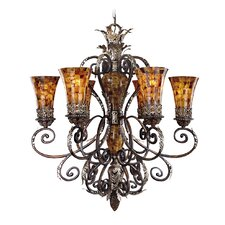 <strong>Metropolitan by Minka</strong> Salamanca 6 Light Chandelier