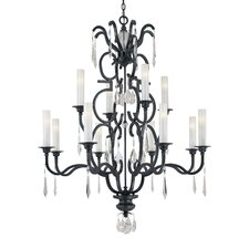 <strong>Metropolitan by Minka</strong> Castellina 12 Light Chandelier