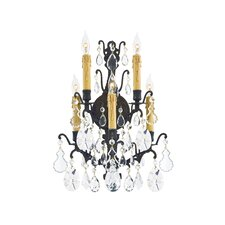 <strong>Metropolitan by Minka</strong> Vintage 5 Light Candle Wall Sconce