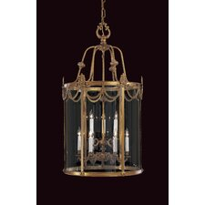 Vintage 9 Light Foyer Pendant