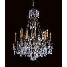 Vintage 10 Light Chandelier
