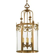 Vintage 6 Light Foyer Pendant