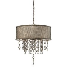 Ajourer 8 Light Drum Pendant