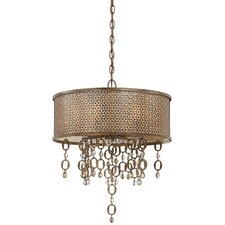 Ajourer 6 Light Drum Pendant