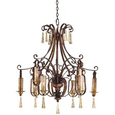 <strong>Metropolitan by Minka</strong> Vineyard Haven 9 Light Chandelier