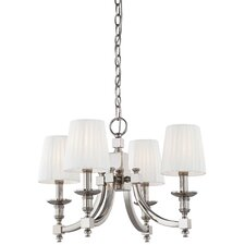 <strong>Metropolitan by Minka</strong> Continental Classics 4 Light Chandelier